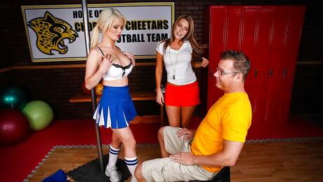Cheerleader Boobs
