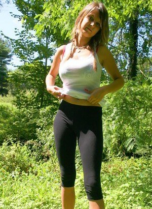 Yoga Pants Boobs