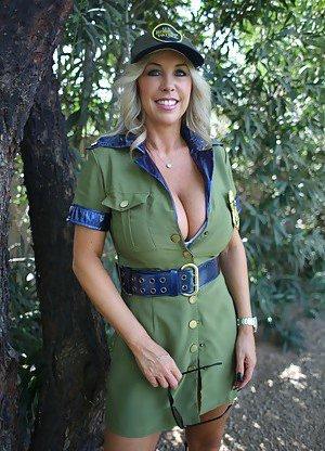 Uniform Boobs